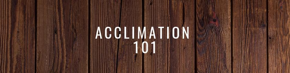 Wood Flooring Acclimation 101