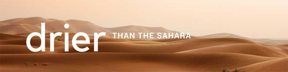 Winter is Near: Drier than the Sahara