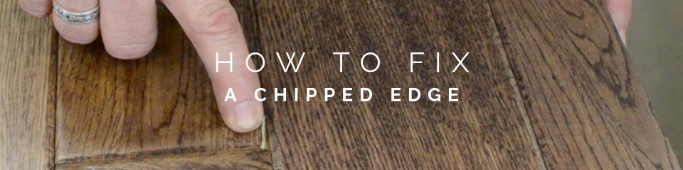 How To Fix A Chipped Edge On Wood Flooring