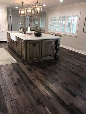 Storehouse Barrel Herringbone Wood Floor